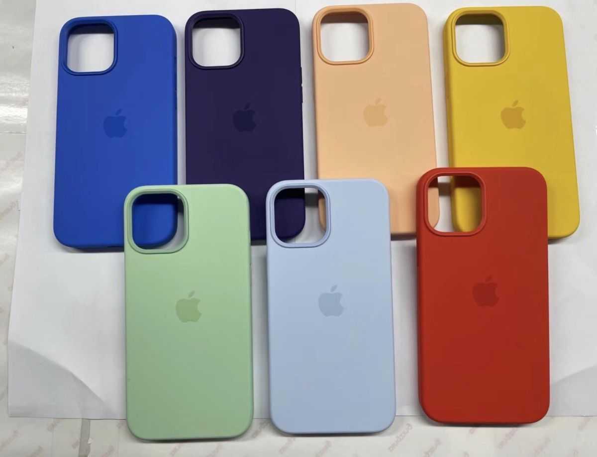 Чехлы MagSafe для iPhone 12 просочились в новые цвета - вот ваш первый взгляд