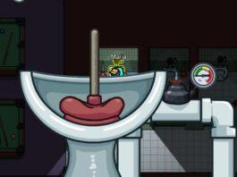 Как чистить туалеты в холле (карта дирижабля)