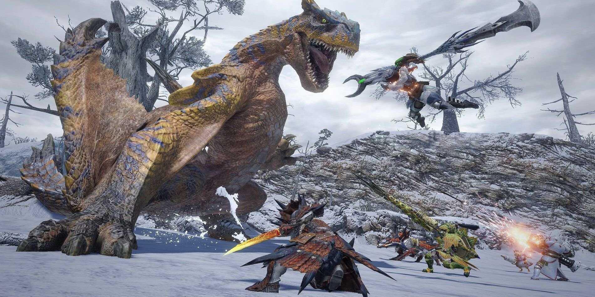Лучшие наборы брони в Monster Hunter Rise