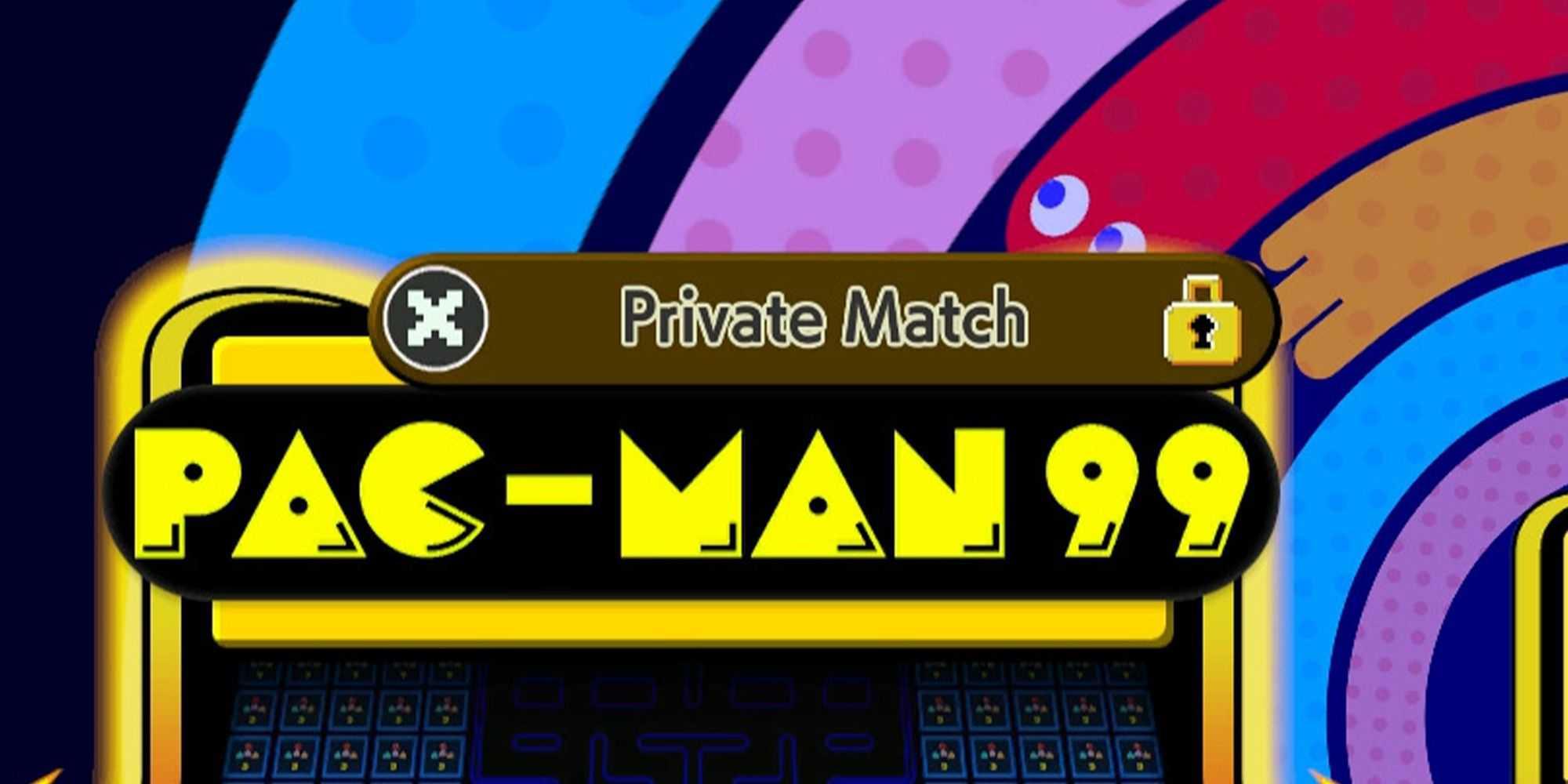 Pac-Man 99: как организовать приватный матч