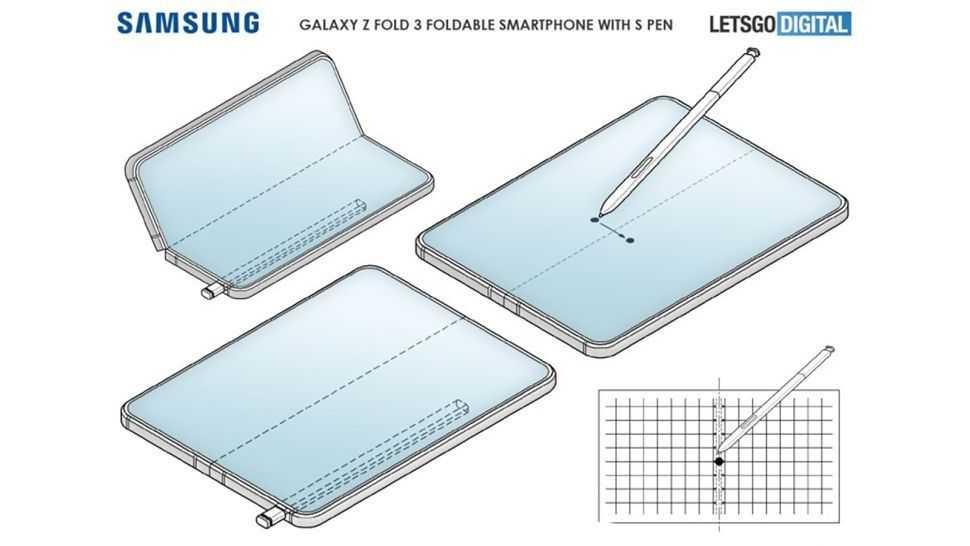 Утечка Samsung Galaxy Z Fold 3 показывает, что эта функция не работает
