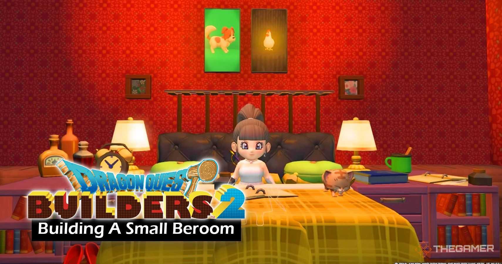 Dragon Quest Builders 2: Как построить маленькую спальню