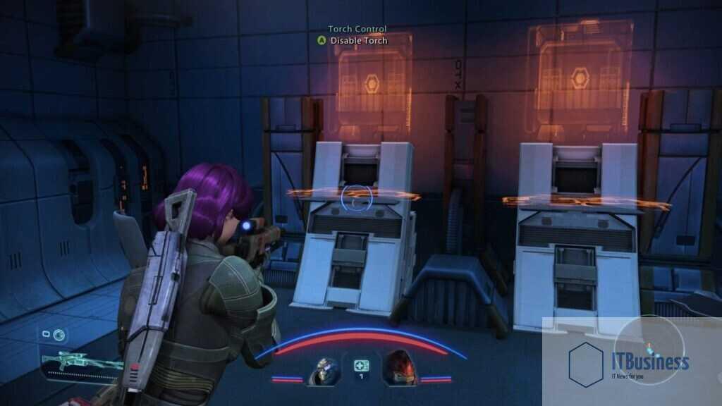 Задание Mass Effect Bring Down the Sky, отключающее термоядерную горелку