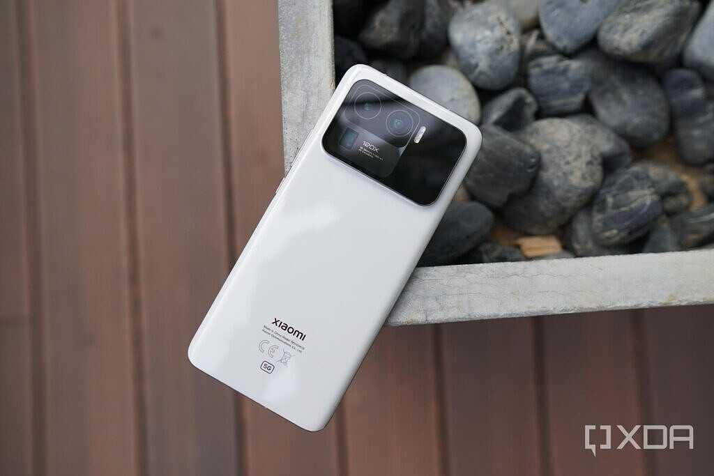 Xiaomi Mi 11 Ultra в белой керамике
