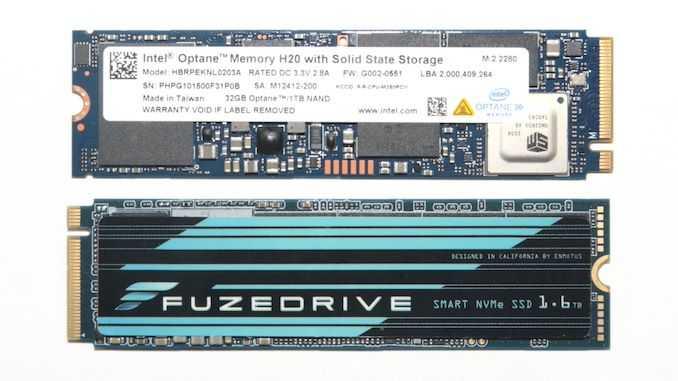 Обзор Intel Optane Memory H20 и твердотельного накопителя Enmotus FuzeDrive