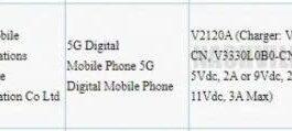 Vivo X60t Pro принимает сертификацию 3C с зарядкой 33 Вт