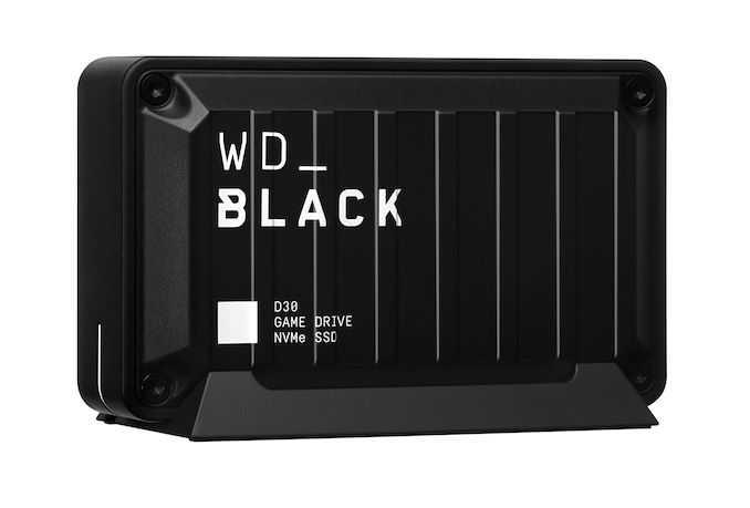 Western Digital представляет внешние твердотельные накопители WD Black D30 Game Drive